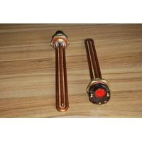 Buy cheap 12V 24V 48V Flange Type Electric Copper Immersion Heating Element 1500W from wholesalers