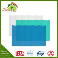 China Good price temperature resistant rain protection roofing sheet on sale