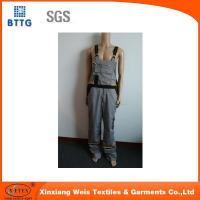 Buy cheap Flame retardant bib coveralls buckle cargo pants from wholesalers