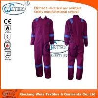 Buy cheap EN11611 electrical arc resistant safety multifunctional coverall .jpg from wholesalers