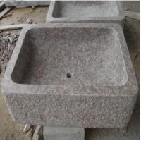 Buy cheap Slabs G687 Granite Rectangle Sinks from Wholesalers