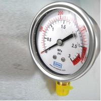 Buy cheap YTN-50 semi steel seismic oil filled pressure gauge from wholesalers