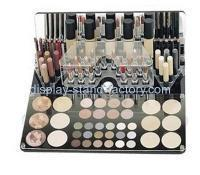 Buy cheap Custom clear acrylic display case makeup box organizer NMD-026 from wholesalers