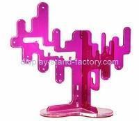 Buy cheap Custom acrylic floor display stands pierced earring holder stand jewelry display wholesale NJD-001 from wholesalers
