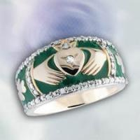 Buy cheap Heart Jewelry Irish Promise Claddagh Ring from wholesalers