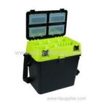 Buy cheap Multifunctional Plastic Carp Match Fishing Seat Box Strap Cushion Fishing tackle outdoor box from wholesalers