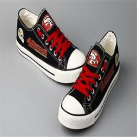 Buy cheap Printing Canvas Shoes Hot sales high quality shoes in casual men fabric from wholesalers