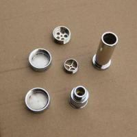 Buy cheap CNC machined parts Chrome plated brass parts from wholesalers