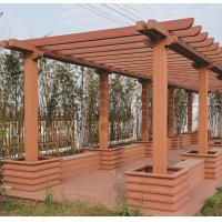Buy cheap CR-3137 Friendly External WPC Pergola Garden Furniture from wholesalers