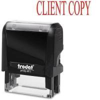 Buy cheap Trodat Self-inking Client Copy Stamp from wholesalers