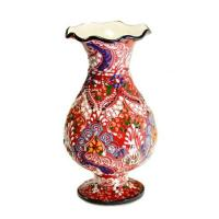 Buy cheap Assorted Hand Painted Ceramics Turkish Ceramic Vase~red from wholesalers