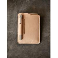 "New ""Dante"" Walnut Brown Handmade Leather Notebook Sleeve"