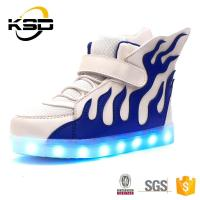 Buy cheap High top new fashion LED shoe young fashion shoes cool kids lighting shoes from wholesalers