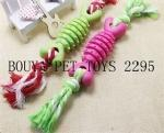 Buy cheap Pet Dog Toy Cotton Rope Rally Bite TPR Bone Shape 2291 from wholesalers