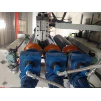 Buy cheap EPS Aluminium Plastic Composite Panel Production Line Fireproof Track Flew Saw Cutting from wholesalers