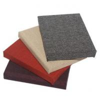 Buy cheap Fireproof sound-absorption fabric board from wholesalers