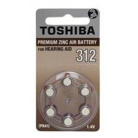 Buy cheap Toshiba Hearing Aid Battery, Size 312 (6 pc) from wholesalers