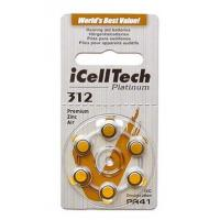 Buy cheap iCellTech Hearing Aid Battery, Size 312 (6 pc) from wholesalers