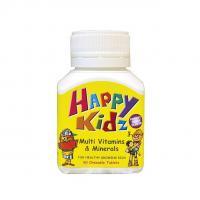 Buy cheap Happy Kidz Multivitamins & Minerals 60s product