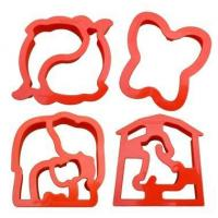 Buy cheap Lunchpunch Sandwich Cutter, CRITTER CUTTERS (4-pack) product