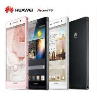 Buy cheap HUAWEI Ascend P6 Quad-core 6.18 mm WCDMA/GSM 4.7 inch Android phone 2GB RAM multi lanugage[043] from wholesalers