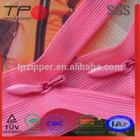 Buy cheap Wholesale Custom Coil Zipper Price Knitted Tape Long Invisible Zipper from wholesalers
