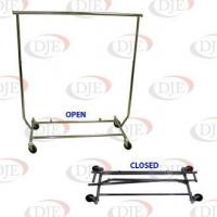 Buy cheap Racks Collapsible Salesman Clothing Rack - Chrome from wholesalers