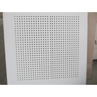 Buy cheap Sound Absorption Gypsum board Square hole of 3x3 from wholesalers