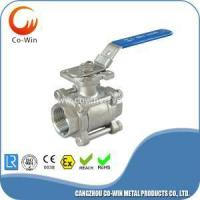 Buy cheap Mounting Pad 3 PC Ball Valve from wholesalers