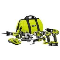 Buy cheap Ryobi 18-Volt ONE+ Lithium-Ion Ultimate Combo Power Tool Kit (6-Tool) - Model: P884 from wholesalers