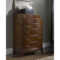 Buy cheap Colonial Cherry 10 Drawer Tallboy Chest of Drawers from wholesalers