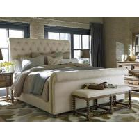 Buy cheap Avante Garde Button Tufted Queen Size Bed from wholesalers