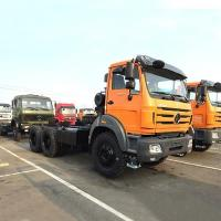 China China BEIBEN 6X4 Cheap 371hp 10 Wheel Commercial Diesel Tractor Prime Mover Big Truck on sale