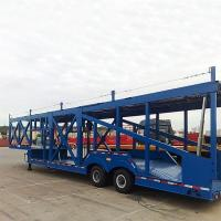 Buy cheap 2/3 Axles Hydraulic Car Vehicle Carrier Transport Truck Semi Trailer for Sale from wholesalers