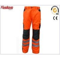 Buy cheap China Supplier Polycotton Cargo Pants,Reflective Safety Work Trousers from wholesalers