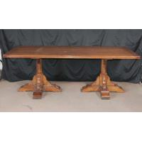Buy cheap Farmhouse Refectory Table Cherry Wood from wholesalers
