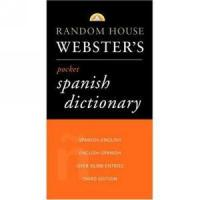 Buy cheap Pocket Sized Spanish Dictionary by Webster from wholesalers