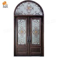 Buy cheap Italian Style Wrought iron entrance door from wholesalers