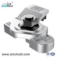 Buy cheap SINCHOLD 7116/10/39 Welded Type forged Steel Flexible Self-Locking Crane Rail Clips from wholesalers