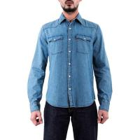 Buy cheap Levi's Denim Western Shirt - Light Wash from wholesalers