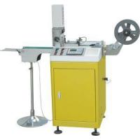 Buy cheap Ultrasonic Label Cutting Machine For Satin Ribbon, Textile, Taffeta, Polyester, Woven Label from wholesalers