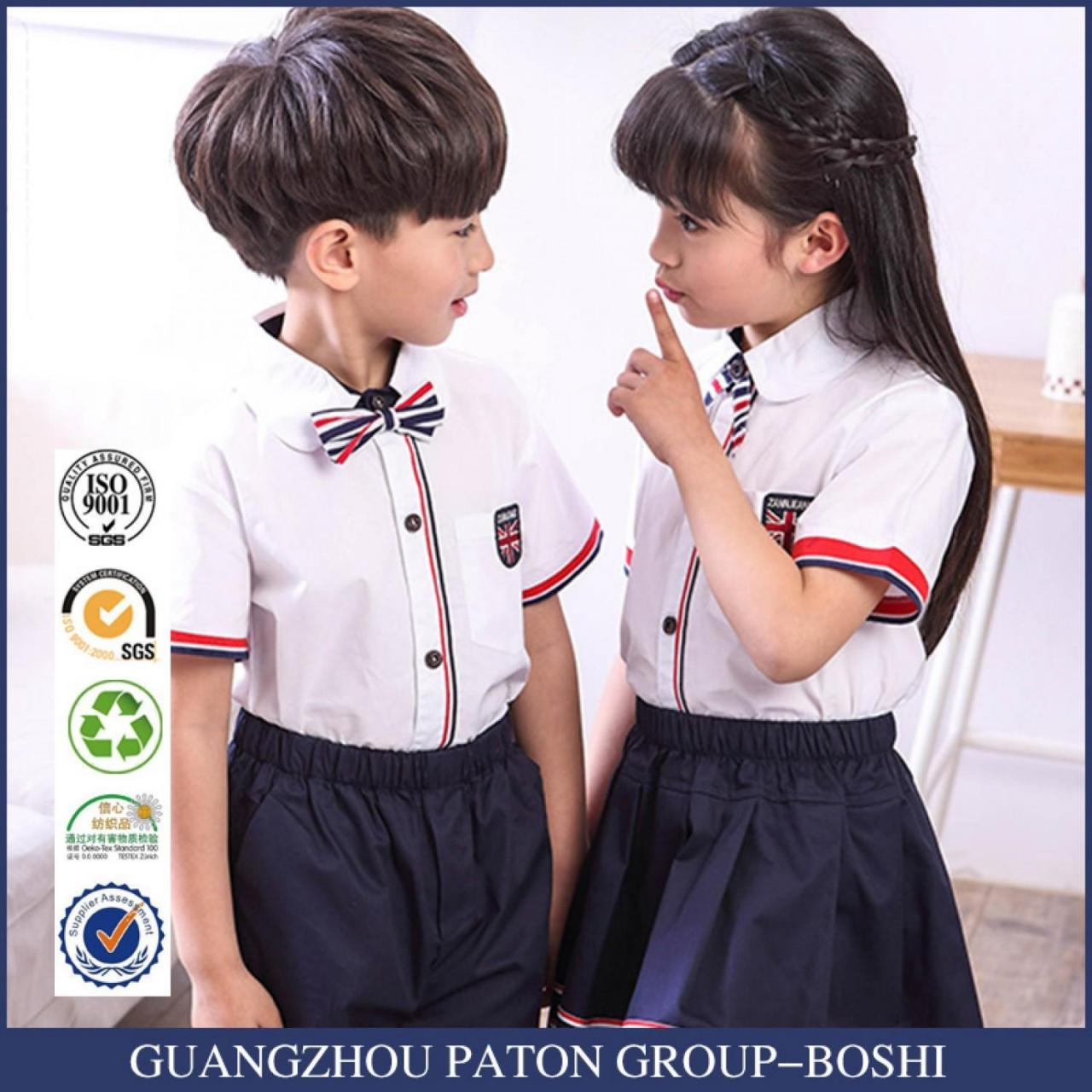 Buy cheap Hot Sale Shirt And Pants Summer School Uniform from wholesalers