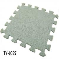 Buy cheap Gray Interlocking Rubber Flooring for Workout Room from wholesalers