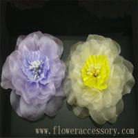 Buy cheap New style women brooch fabric flower BBF1216 from wholesalers