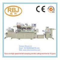 Buy cheap Double Stations Hot Stamping Foil Creasing Label Die Cutting Machine from wholesalers