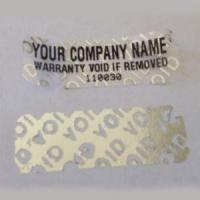 Buy cheap Tamper Evident Security Tape Tamper Proof Seals for Brand Protection from wholesalers