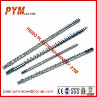 Buy cheap 38CrMoAIA Single and Twin Plastic Screw and Barrel for Extruder Machine from wholesalers