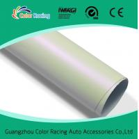 Buy cheap Vehicle Vinyl Wrap Glossy matte pearl White Chameleon Sticker For Car Body Decal from wholesalers