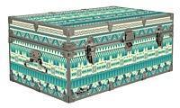 Buy cheap Designer Trunk - Aztec Stripes - 32x18x13.5 from wholesalers