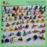 Buy cheap cartoon figures of people Wholesale mini 144 pokemon 2-3cm figure toys from wholesalers